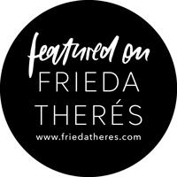 meine arbeit wurde auf Frida Therés veroeffentlicht